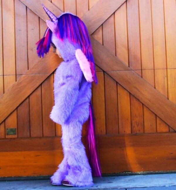 Halloween Unicorn Costume - Adorable Horse Craft Ideas to Have Fun with toddlers, preschool kids