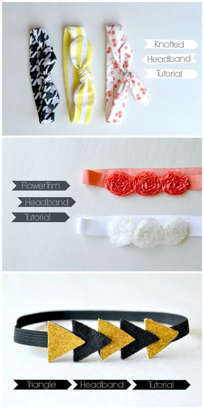 Vintage Knotted Headbands Simple Sewing Projects