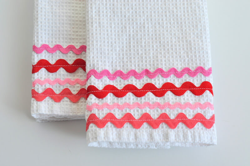 Prime Dish Towels Simple Sewing Projects