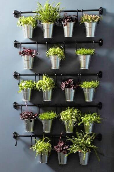 DIY Herb Garden Ideas for Home Decor Ikea Wall Herb Garden