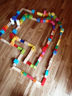 Floor Wooden Block Activities