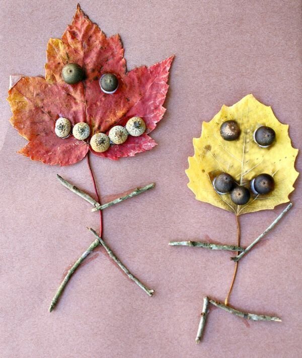 The Leaf Family Leaf Crafts for Preschoolers