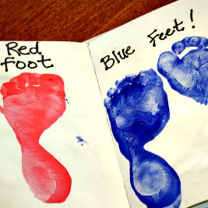 Make Foot Book For Fun