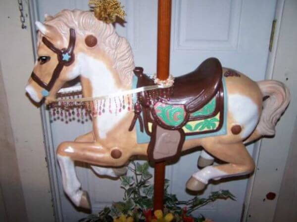 Paper Carousel Horse