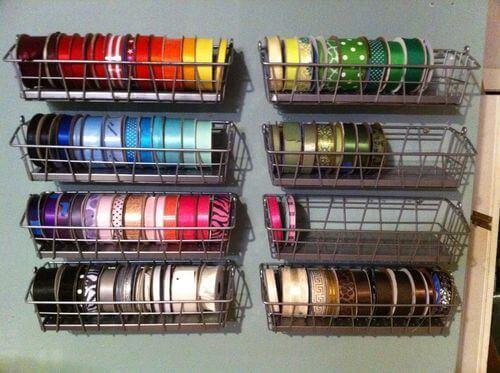 Modular Racks for Ribbon Storage Ribbon Storage Ideas