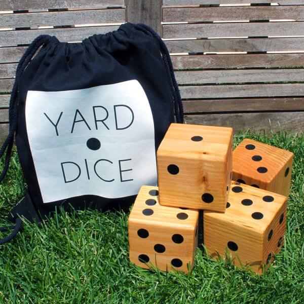 DIY Yard Dice