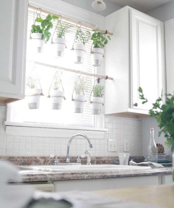 Indoor Hanging Herb Garden DIY Herb Garden Ideas for Indoor & Outdoor Decor