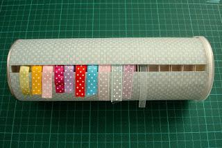 Box- it- up Ribbon Storage Ideas