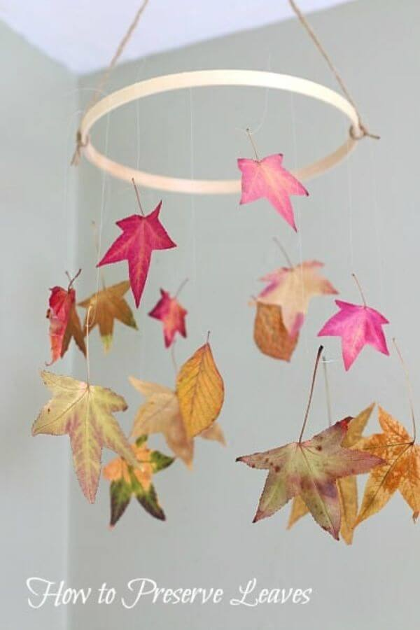 Preserving the Memories that you make this fall Leaf Crafts for Preschoolers