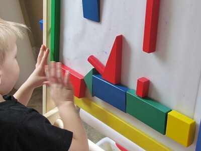 Playing With Rolling Wooden Block Activities