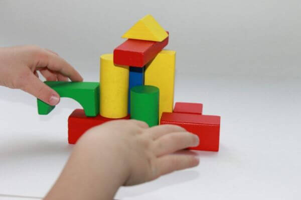 Colorful And Bright Wooden Block Activities