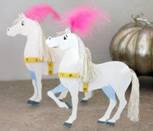 Paper Based Magical Horses- Adorable Horse Craft Ideas to Have Fun with toddlers, preschool kids