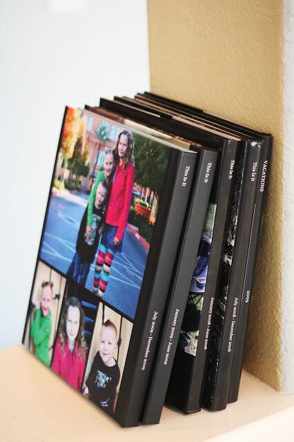 Family yearbooks Family Memory Keepsake Ideas
