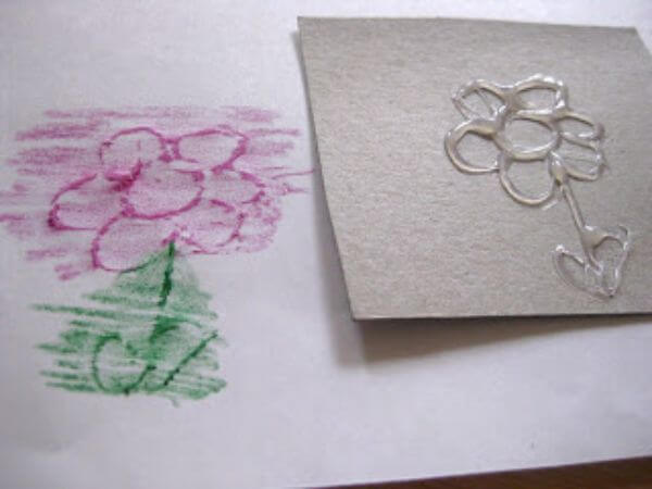 imprint game activity for kids Spring Projects for Kids - Art & Craft for Preschoolers