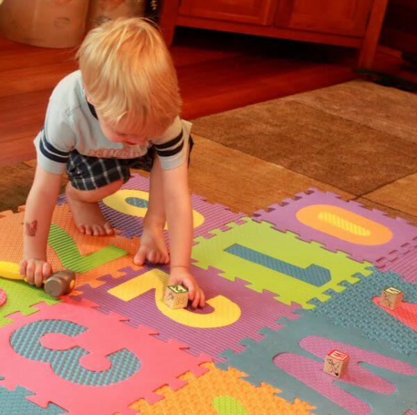 Playing With The Number Mat
