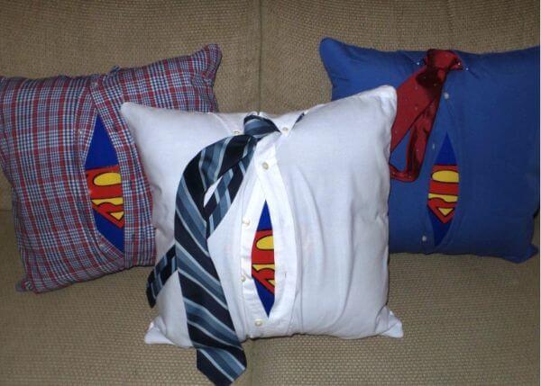 DIY Superman Deco-Foil Pillow