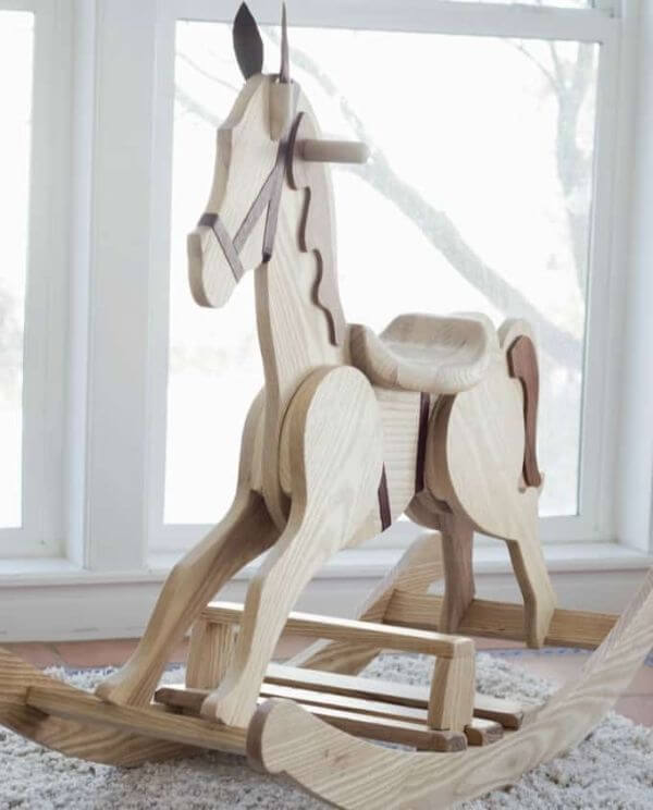 DIY Wooden Horse