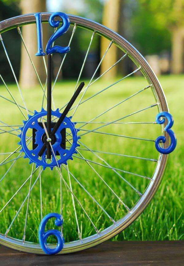 DIY Rim Clock