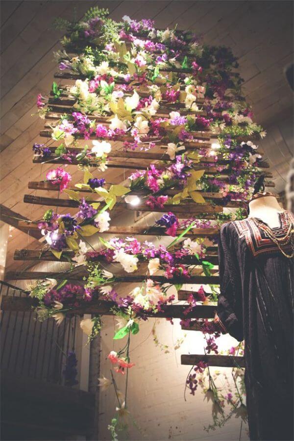 Unique Floral Wedding Decor Ideas for Indoor