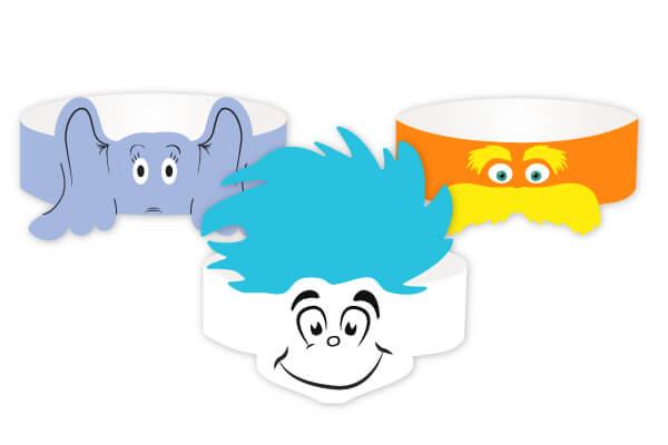 Make Dr. Seuss Fancy Headbands