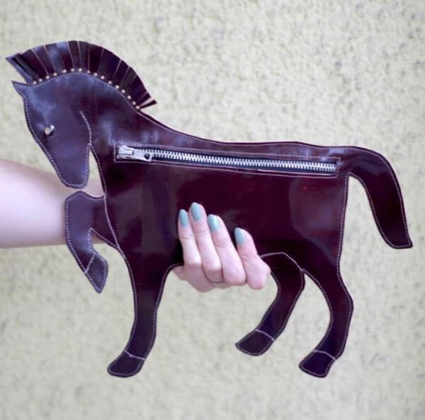DIY Fashionable Horse Purse - Adorable Horse Craft Ideas to Have Fun with toddlers, preschool kids