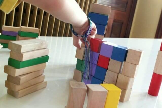 Balancing The Wooden Block Activities