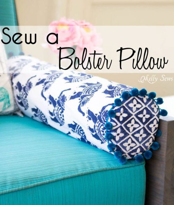 Bloster Pillow Sewing Tutorial