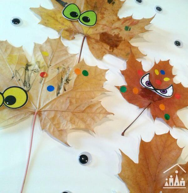 Cartoon masters - Leaf Crafts for Preschoolers