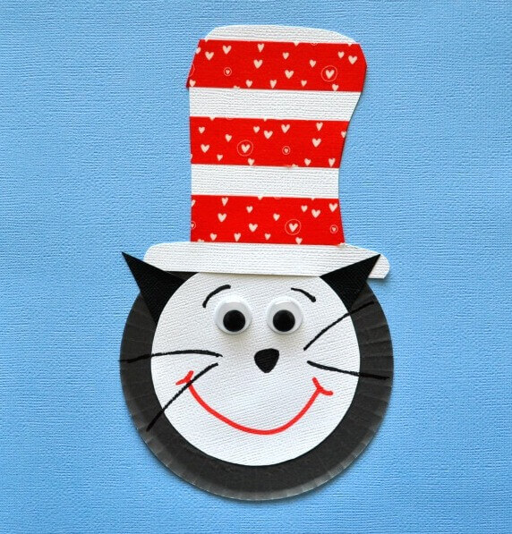 The Cat In The Hat Cupcake Activity DR SEUSS CRAFT Activities FOR KIDS