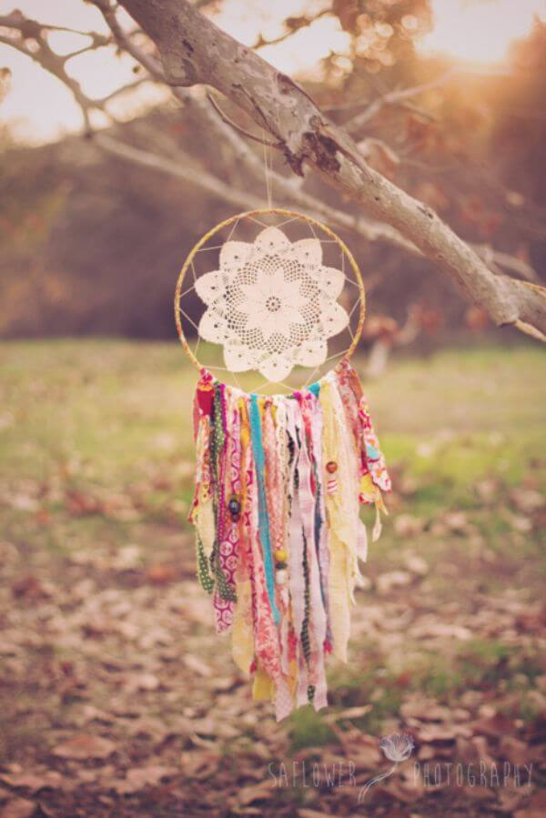 Make A Dream catcher - A dream in the basking sun