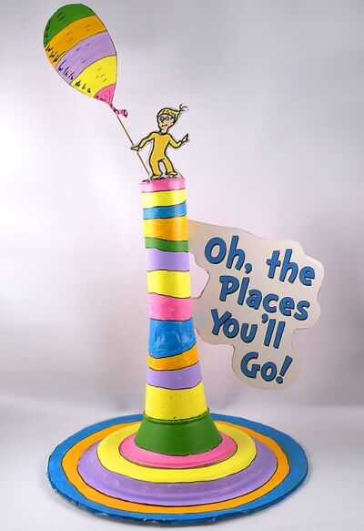 Make Oh, The Places You'll Go Craft DR SEUSS CRAFT Activities FOR KIDS