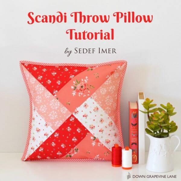 Scandi Throw Pillow Tutorial