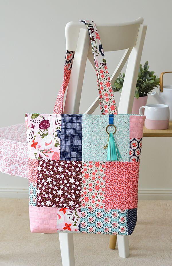 Irresistible designer bags Upcycle Fabric Scraps