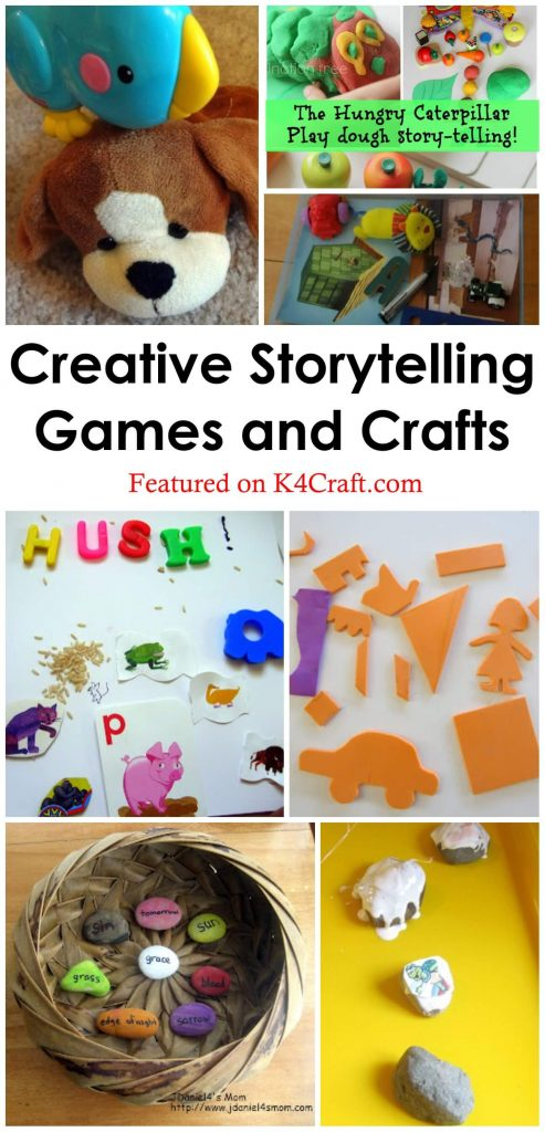 Creative Storytelling Games and Crafts Creative Ways of Storytelling with Crafts