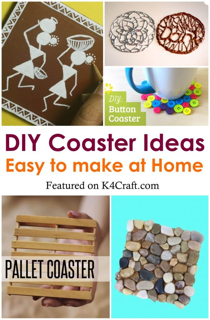 DIY Cup Coaster Ideas