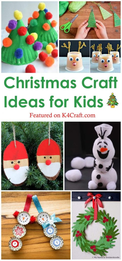 Easy DIY Christmas Craft ideas for Kids Easy Christmas Craft Ideas for Kids