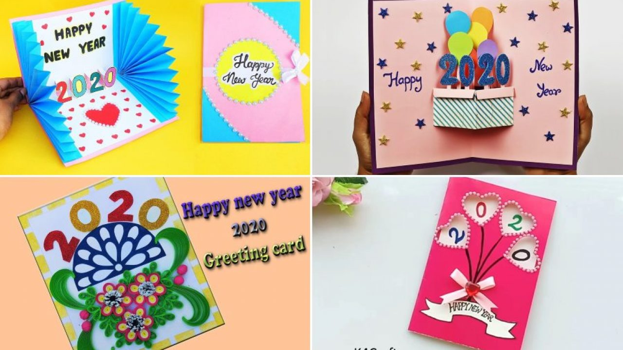 Prime New Year 2020 Easy Diy Greeting Card Ideas For Kids K4 Craft Funny Birthday Cards Online Inifofree Goldxyz