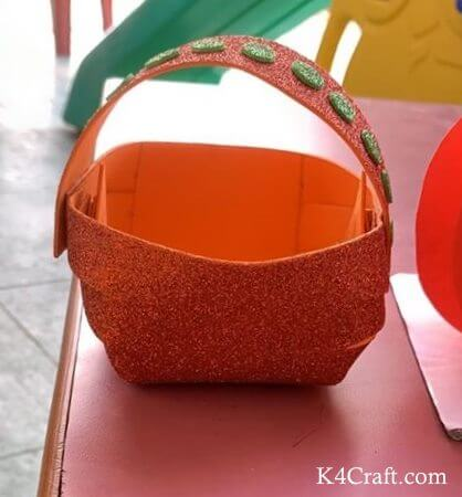 Orange Color Day Basket