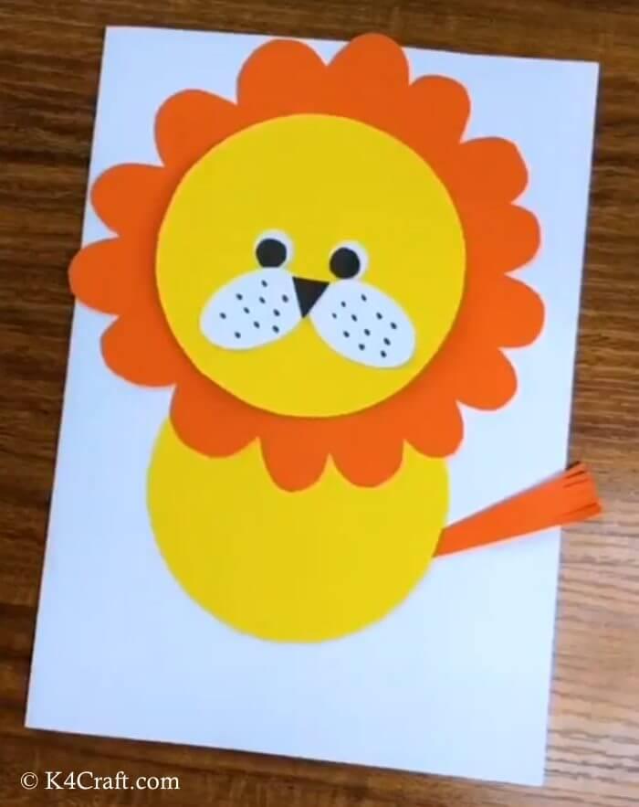 Sun Emits Rays Craft For Preschool