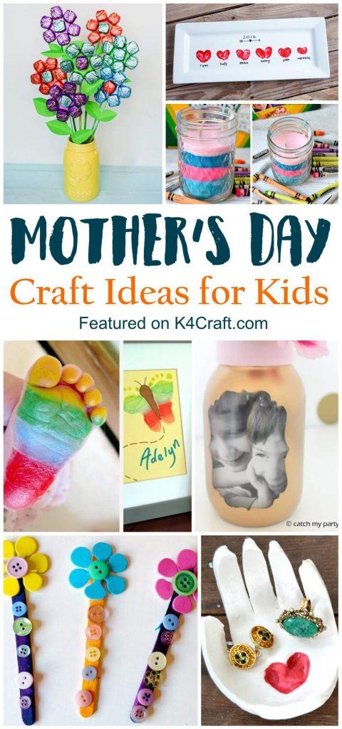 Easy to make Mother's Day crafts Mother's Day Craft Ideas for Kids