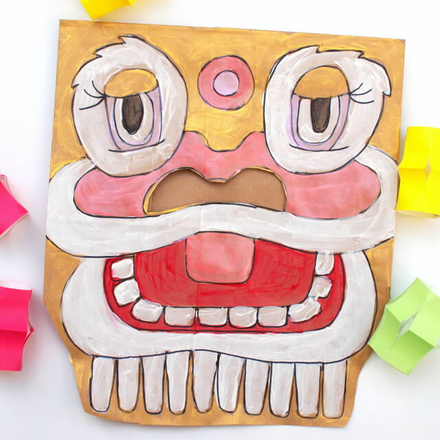 Let's mask it! Chinese New Year Crafts and Activities for Kids