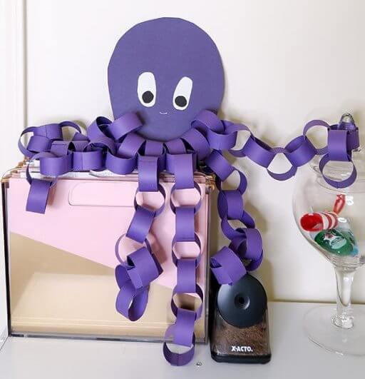 beach party time with Prince Octopus Purple Color Craft Activities & Fun Ideas for Kids