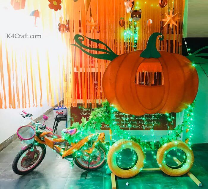 Fairy Lights Orange Day Photo booth