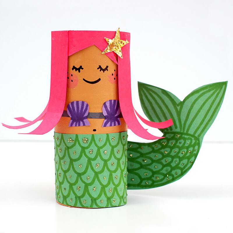 The Star Mermaid Mermaid Crafts Kids Will Love