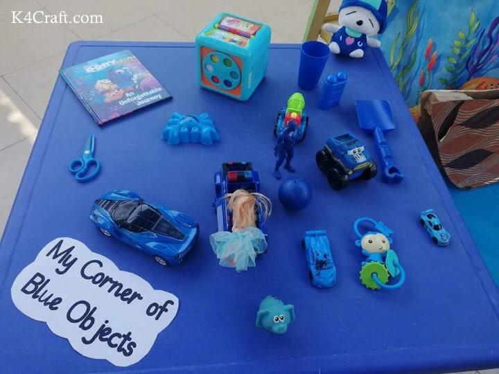 My Corner Of Blue Objects Easy Blue Day Craft Ideas & Activities For Kids preschool kindergarten