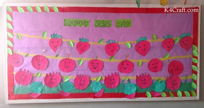 Make Red Day Strawberry & Tomato Chart