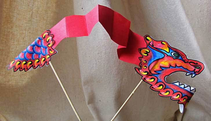 The Pink Dragon Chinese New Year Crafts and Activities for Kids