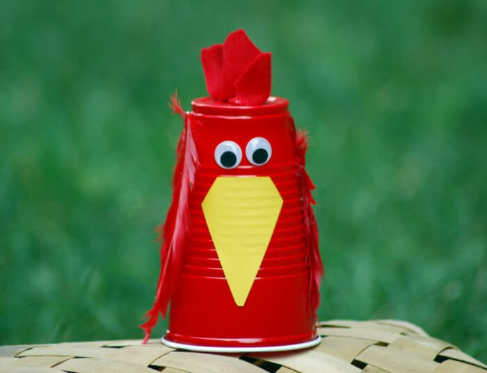 Little Red Hen With Yellow Nose Red Day Crafts & Activities for Preschool Kids