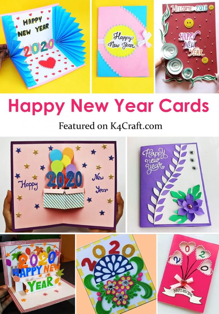 New Year 2020: Easy DIY greeting card ideas for kids