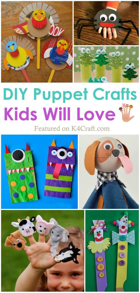 Playful puppet making crafts for you DIY Puppet Making Crafts Kids Will Love